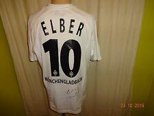 "Borussia Mönchengladbach lotto camiseta 2005/06 ""kyocera"" + nº 10 elber talla M-L"