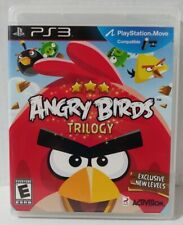 ANGRY BIRDS TRILOGY Playstation 3 PS3 Complete w/ Manual Free Shipping!