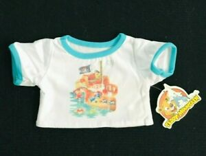 """Pirate T-Shirt Teddy Bear Clothes Fits Most 14""""-18"""" Build-a-Bear Teddy Mountain"""