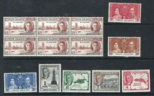 BRITISH VIRGIN ISLANDS - Interesting Mint and Used Issues Selection (Nov 406)
