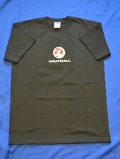 VAUXHALL  T-SHIRT MACHINE EMBROIDERED IN UK (NOT PRINTED)