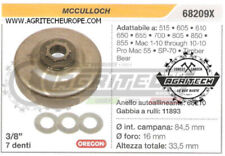 Pièces et accessoires pignons McCulloch pour tronçonneuse électrique