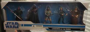 "Star Wars 5-Pack: Legacy Saga Legends 3.3/4"" Figure Box Set"