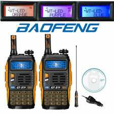 2* Baofeng GT-3TP Mark III  VHF/UHF 136-174/400-520MHz 1/4/8W Ham Two-Way Radio
