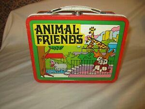 Older Animal Friends Metal Lunch Box!!!