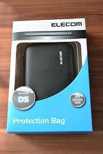 Nintendo Schutzhülle Tasche Elecom schwarz für  DSi DS Lite 3DS (WII-14801)