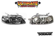 Headlight Lamps (Pair) Left and Right or 06-08 Chevy Aveo5
