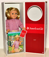 Kit American Girl Doll! Retired Meet Outfit! Hair Untouched! Box/Book/Tag/Barret