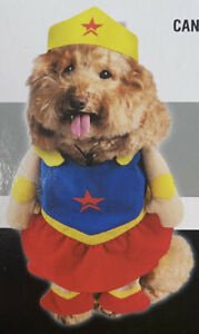 Imagin8 Halloween Pet Costume Size L Large Wonder Woman