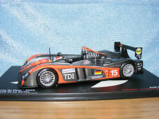 Audi R 10 TDI   2009 LeMans 24 hours car  in 1:43rd. Scale