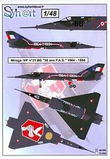 Syhart Decals 1/48 French MIRAGE IVP 30th Anniversary F.A.S. 1964-1994