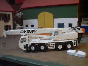 Krupp Autokran 4 -Achser 1 : 50 Conrad - Selten Rar