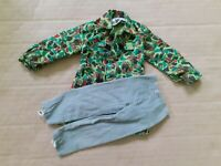 VINTAGE ACTION MAN GERMAN PARATROOPER PART UNIFORM