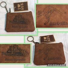 2X Australian Souvenir Coin Purse Case Pouch Bag Opera House / Kangaroo