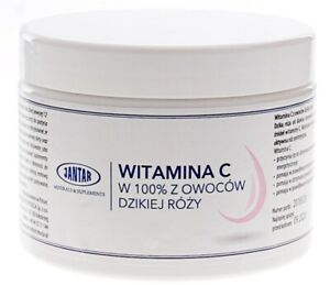 Vitamin C from wild rose 300g Jantar, FREE P&P