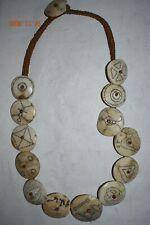 "Sale! Naga Headhunting Necklace, Shell, 24"" Prov"