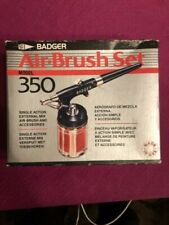 BADGER Air Brush Set model 350 SIngle action, Made in USA