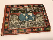Wide World Stamp Book 1931 E. M. Kovar Printed In U.S.A. Album 687