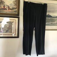 Ashley Stewart Very Dark Blue Dress Pant Woman Plus Size 20W A1901