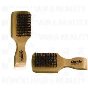 ANNIE MINI BOAR & REINFORCED HARD BRISTLES CLUB BRUSH  FOR HAIR AND BEARD