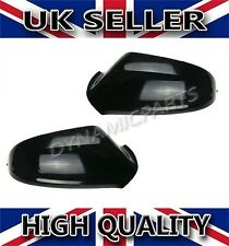 Vauxhall Astra G MK4 Door Wing Mirror Cover Cap Casing Pair 1998-2004 Black