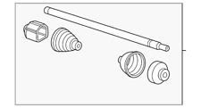 Genuine GM Axle Assembly 22868218