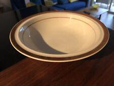 1 Brown Monterrey Vegetable Serving Bowl 9.25 Stoneware EUC! JAPAN