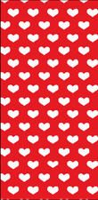12 Red and White Beach Towels Overstock, 30