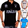 Italien Herren Polo Shirt T-Shirt Clubwear EM WM Italy Italien Italia ITA t.2.1