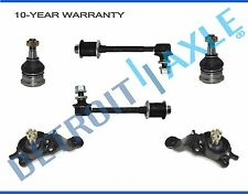 Brand New 6pc Complete Front Suspension Kit for 2004 - 2005 Toyota Tundra