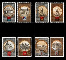 USSR RUSSIA STAMP. MNH-OG. Complet-8 timbres Olympiade 1980. Tourisme. SG 1855