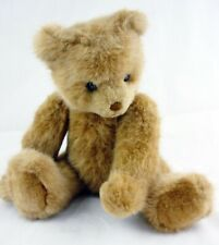 """Gund Vintage 1986 20"""" FAO Schwarz Jointed Bear Brown Plush Stuffed Animal 18"""""""