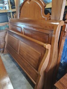 BOB TIMBERLAKE LEXINGTON FURNITURE KING SLEIGH BED OAK