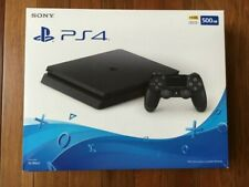 Sony PlayStation 4 Ps4 Slim 500gb Console System W/ Hookups Wireless Controller