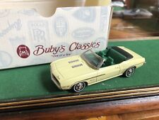 Buby's Classics Metal 1/43 Vintage Chevrolet Camaro 1969 Rs Mint+Box Top Down