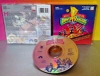 Mighty Morphin Power Rangers TV Show PC CD-ROM Video Win/Mac CLASSIC Rare