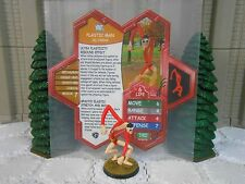 Heroscape Custom Plastic Man Double Sided Card & Figure w/ Sleeve DC
