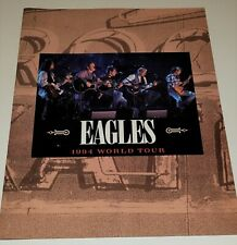 The Eagles 1994 Hell Freezes Over Tour Concert Program