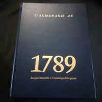 L'almanach de la révolution 1789  illustré