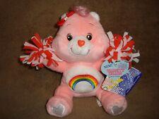 "Care Bears Cheer Bear #3 Special Edition Series 1 Varsity Bears 2004 7"" Plush"