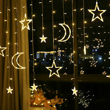 LED Moon Star Fairy String Light Ramadan Lamp Party Supply Party Home Decoration