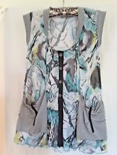 RJ Wear ladies top multi coloured size M