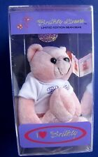 Britney Spears Limited Edition Bean Bear #1 1999 Britney Brands Only 25,000 Made