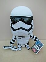 """Star Wars 11"""" Talking STORMTROOPER Soft Plush Toy With Original Tags"""