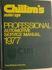 Chilton's Auto Repair Manual 1971-1977 Amc Jeep Ford Chrysler & General Motors
