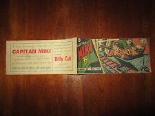 STRISCIA CAPITAN MIKI V° SERIE NUMERO 21 NOVEMBRE 1953