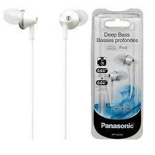 Panasonic RP-HJE295-W Earphones Headphones Deep Bass RPHJE295 White