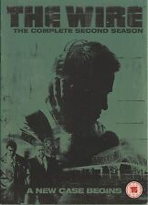 THE WIRE - Complete 2nd Series. Dominic West, Idris Elba (HBO 5xDVD BOX SET '05)