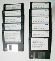 Original NEC Windows Version 3.1 (6 diskettes) 1992 + 5 diskettes Nec utilities