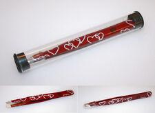 Tweezers Heart, Sanguine Red Tweezers, Slanted